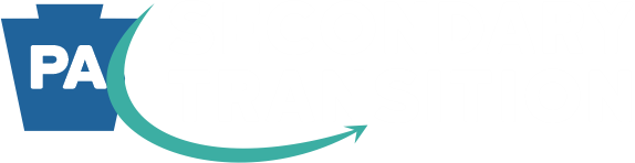 PA secondary transitions footer logo