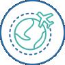 Managing Travel  icon