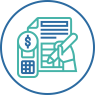 Managing Finances  icon